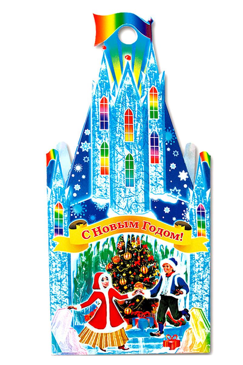 Картонная упаковка для новогодних подарков 2014 оптом